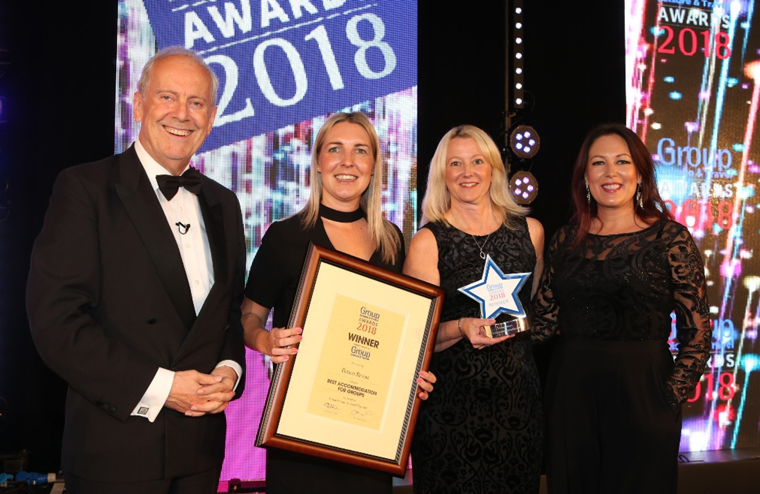 Potters Resort recognised as 'best accommodation for groups' at national awards