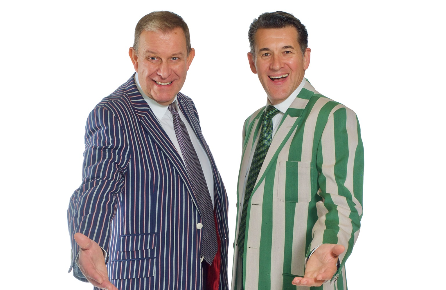 Comedy, magic and accordians: Meet Olly and Nigel from Potters Laughter Show