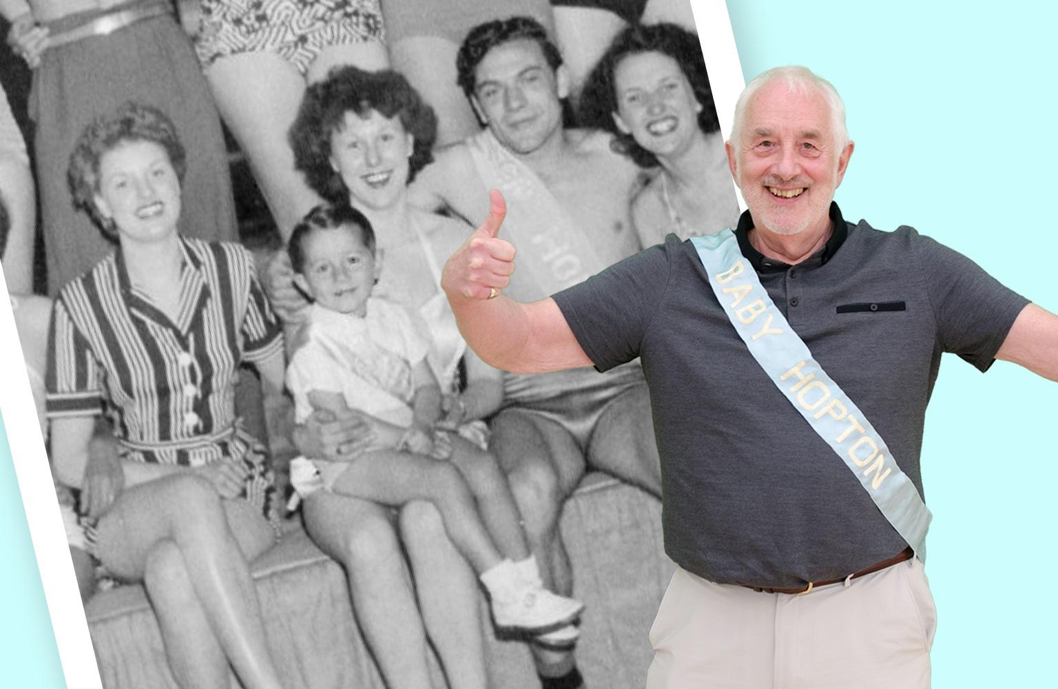 """Hopton bonny baby: Guest David talks about his """"fab-u-lous"""" Potters memories"""