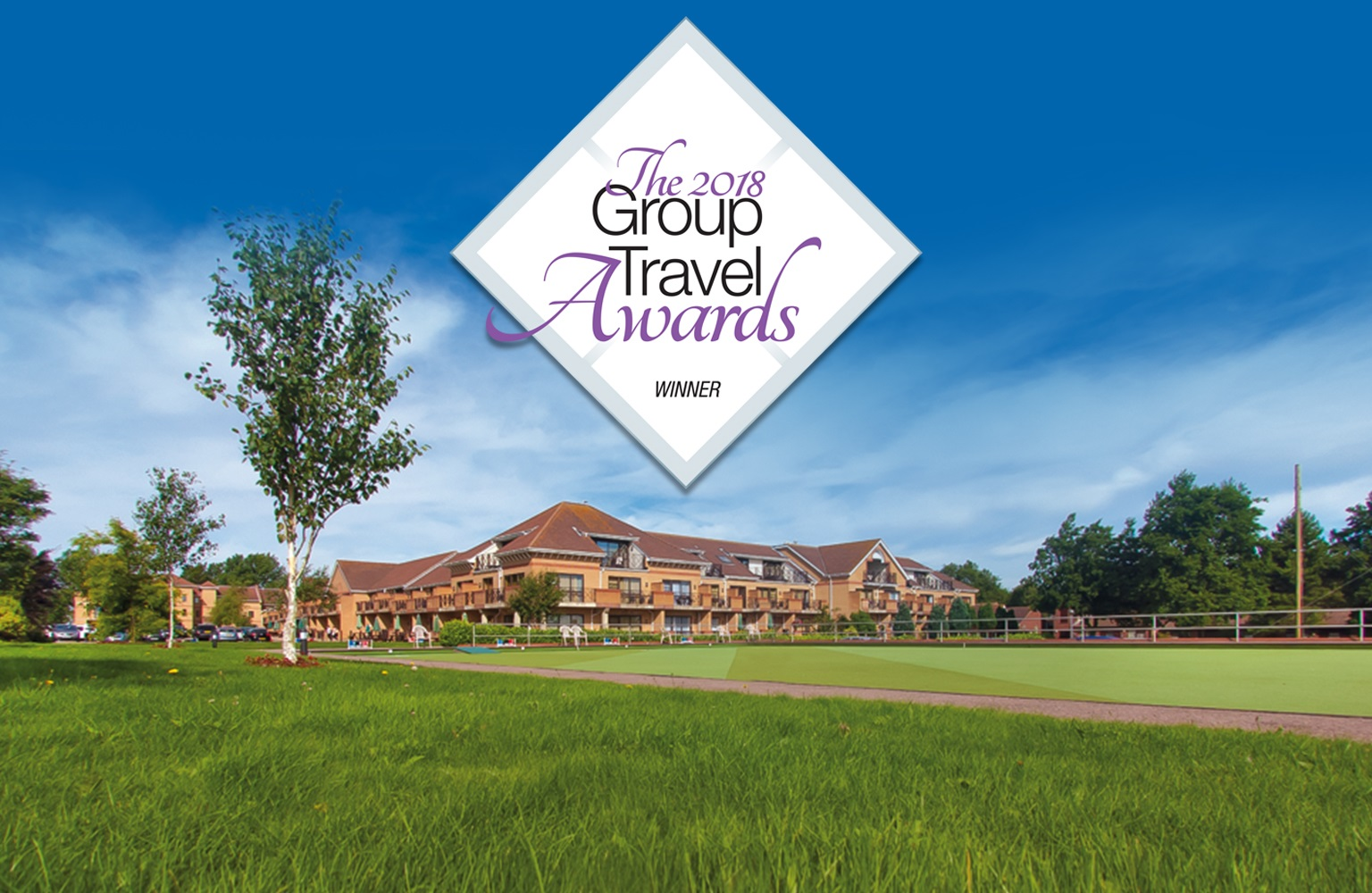 Potters recognised as leading group holiday provider at national awards