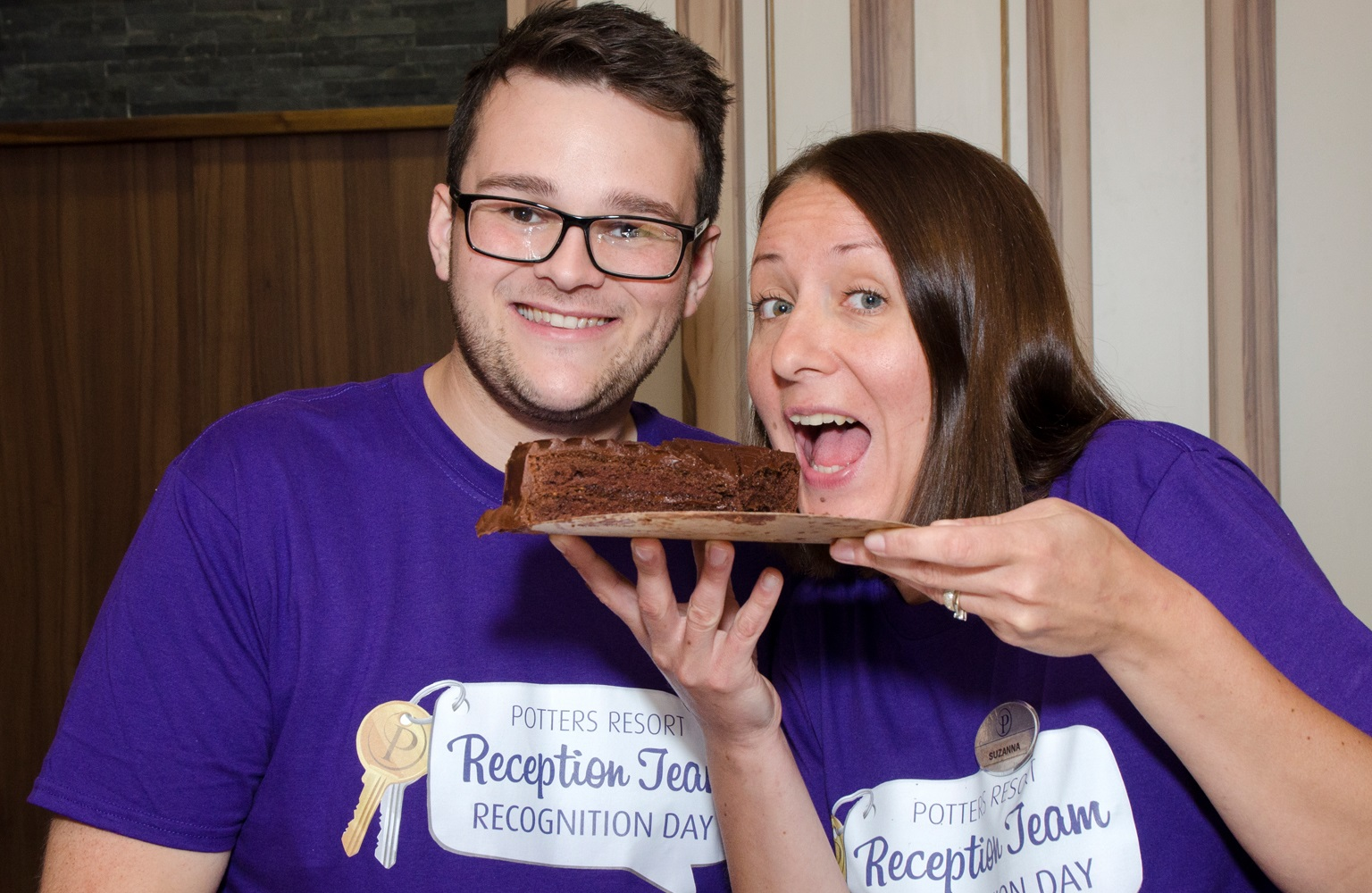 Cakes, Zumba and a 13.5 metre Giant Swing to celebrate Reception Team Recognition Day