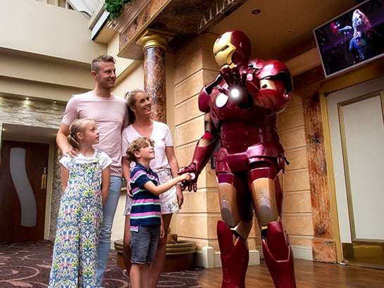 23rd August | August Bank Holiday Family Weekend Break