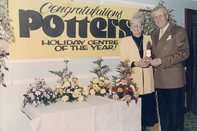 Potters Resort - History