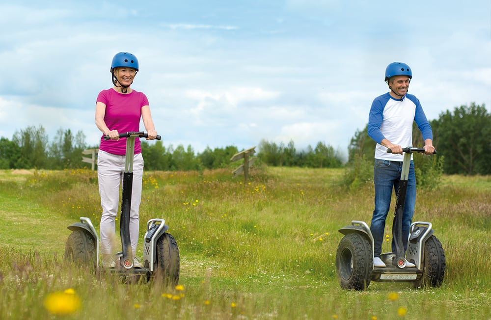 Segways at Potters Resort