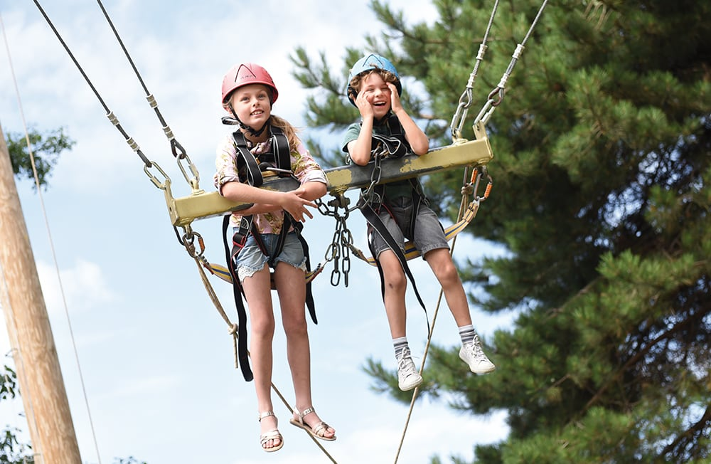 Giant Swing at Potters Resort