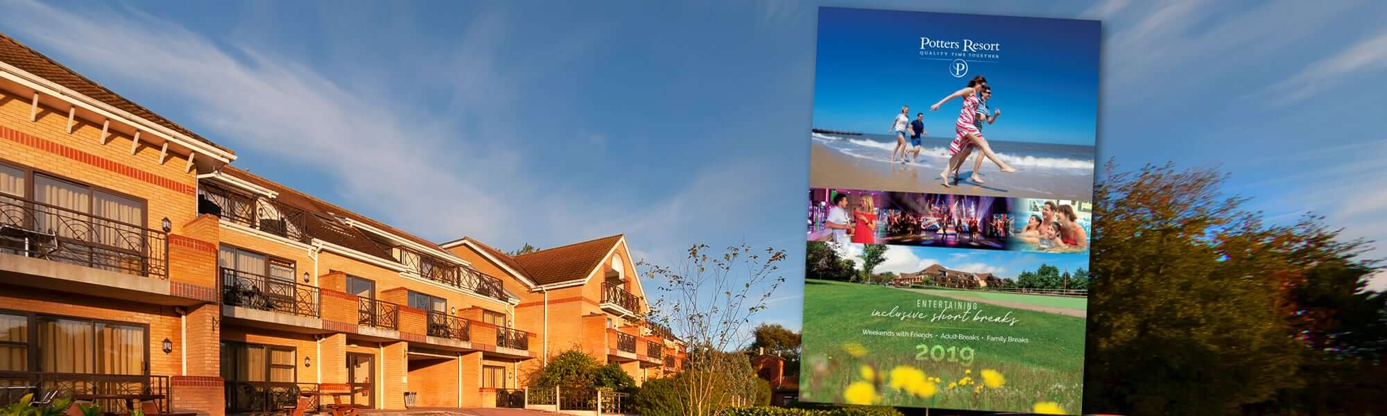 Get a FREE Potters Resort brochure