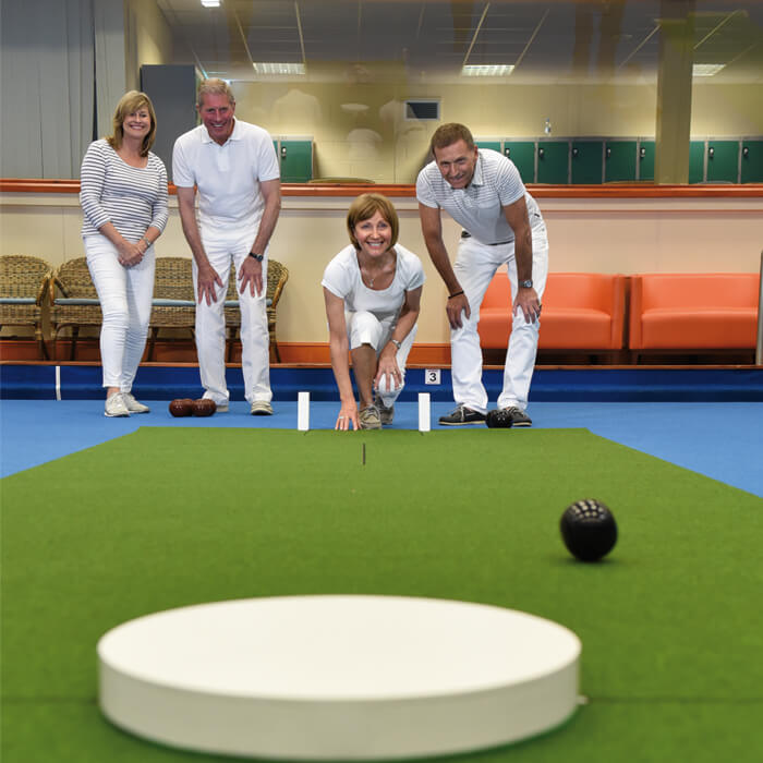 Indoor Bowls at Potters Resort