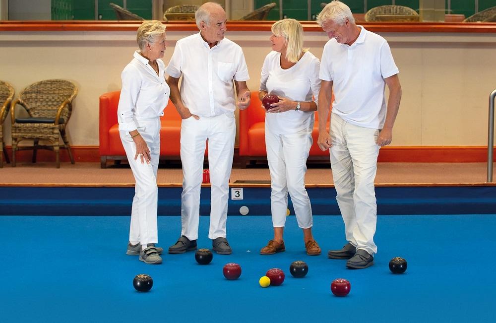 Indoor Bowls - Potters resort