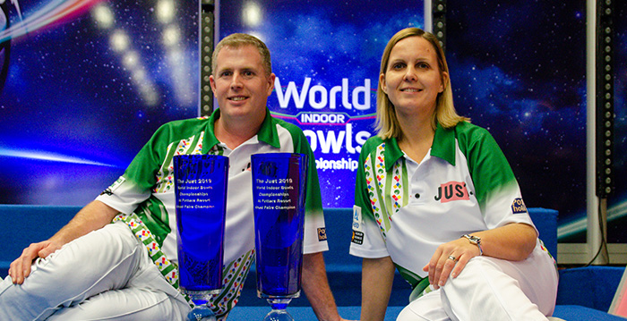 World Indoor Bowls Championships Mixed Winners